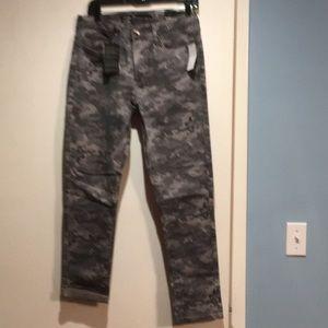 Seven grey camo skinny jean
